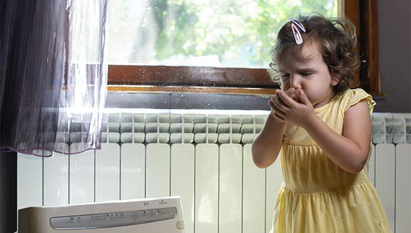 Indoor air quality testing services from Precision Home Inspections Plus